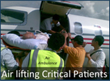 Air Lifting Critical Patients